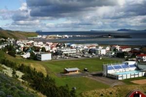Sauðárkrókur_skyline_summertime