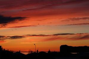 hofsos sunset